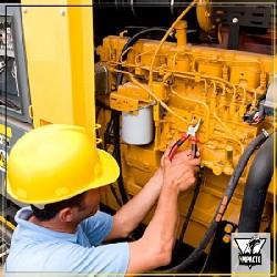 serviço de manutenção de gerador