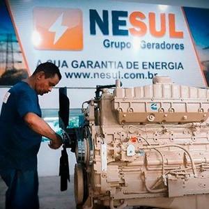 Conserto de gerador de energia